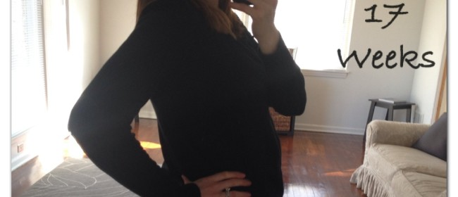 Pregnancy Update – 17 Weeks
