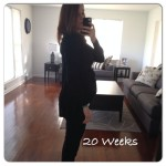 Pregnancy Update – 20 Weeks